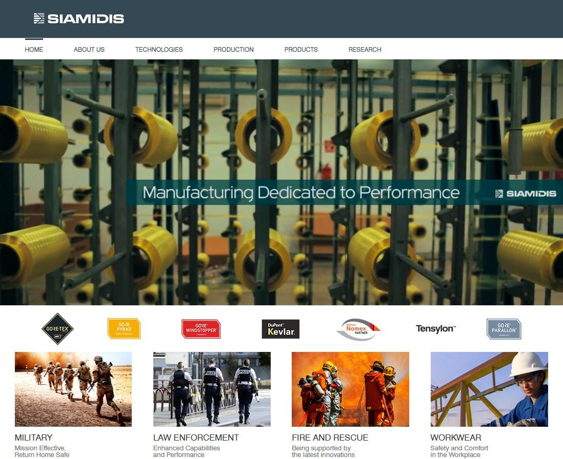 siamids.eu - WordPress σελίδα